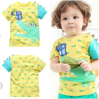 Embrodery/ printed tee for boy and girls