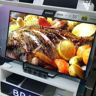 "Promo Sony 55"" Internet TV KDL 55W650D Kredit Tanpa CC"