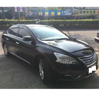 正2014 Nissan Sentra頂級版 I~KEY 29.8萬 實車實價 一手車 非自售 !!!