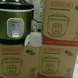 Rice cooker 1.2 liter trisonic paling bagus dan murah
