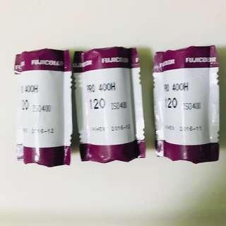 Fuji film PRO400H 120 films