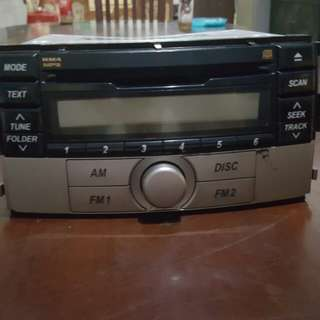 Head Unit CD Player Toyota Rush