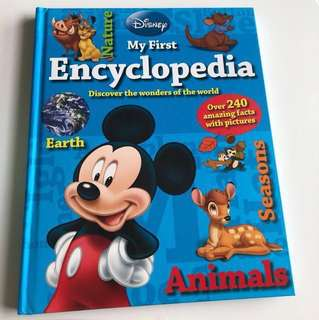 Disney my first encyclopedia & picture dictionary book