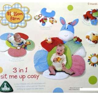 Blossom Farm Baby Sofa Sit Me Up 3 in 1
