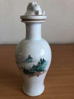 Antique wine bottle