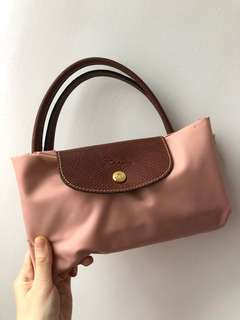 Longchamp  短柄a4size  (m size)