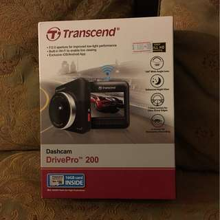 🔥 Brand New in Sealed Box - Transcend DrivePro 200 Car Cam / Dashcam 🔥