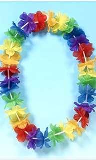 Hawaiian flower garland