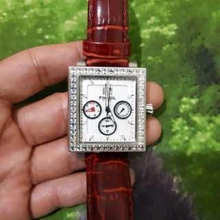 Jam Tangan Fossil BQ9364 Crystal Watch