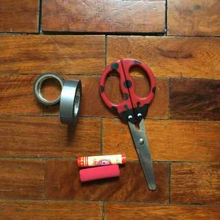 Scrapbooking and School Supplies