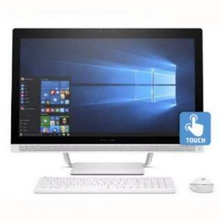 "Flawless Like Brand New HP Pavilion 24"" All-in-One PC Desktop Touch Screen"