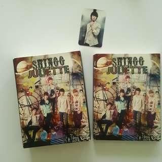 SHINee Julliete Album A+B