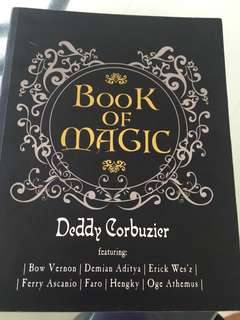 Book of Magic Deddy Corbizier