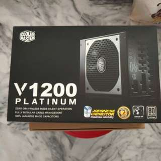 V1200 F-MODULAR POWER SUPPLY 80+PLATINUM PSU - 7 Years Warranty