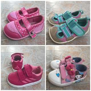 Girls Shoes x 4 pairs