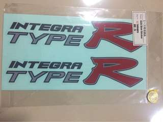 Integra dc5 side decals
