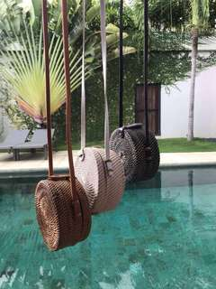 Repriced!! On-hand!Rattan bag!15cm