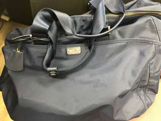 Agnes B  深藍色 L size 旅行袋