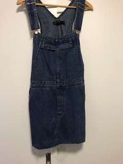 Nude Lucy size small overalls
