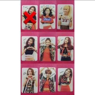 [WTB] TWICE TSB PHOTOCARD