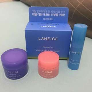 Laneige travel kit