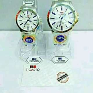 Ticarto watch pair water resistance with box