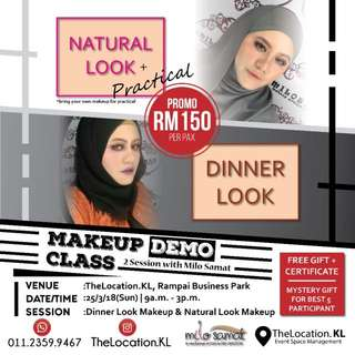 Make up class by Milo Samat