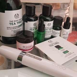 Bath and body works tea tree set