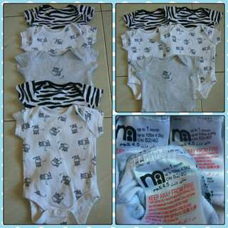Mothercare jumper 4pcs