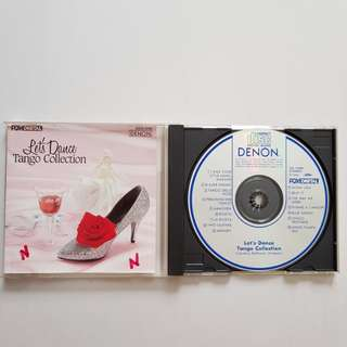 CD Let's Dance Tango Collection