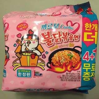 (最新現貨)韓國三養粉紅Carbonara辣雞即食麵 限量連線代購直送