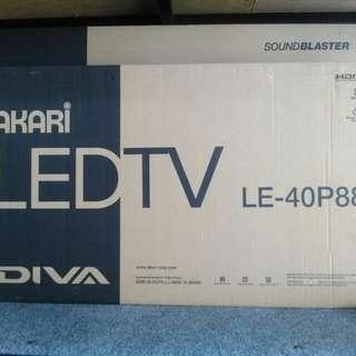 """Tv led 40"""" Akari LE-40P88"""