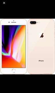 IPhone 8+ 256GB gold