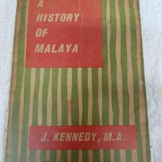 #0329 - A History of Malaya A. D. 1400~1959