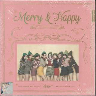 (WTB) Twice - Merry and Happy album (HAPPY VERSION)