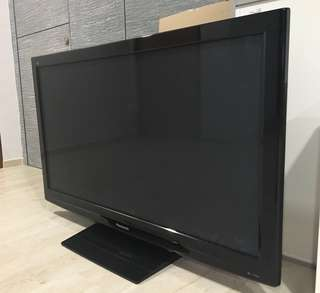 "50"" Panasonic Viera Plasma HD TV (Bought new 2014)"