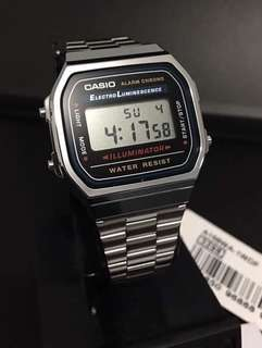 CASIO MINI SILVER WATCH