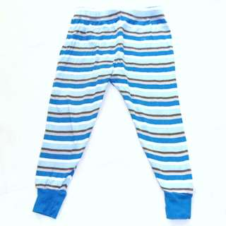 Charity Sale! Authentic 100% Organic Cotton Blue Pants for Boys size 2T