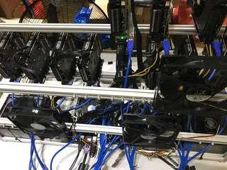 Mining Rig ( RX570, RX580, RX470, GTX 1070 )