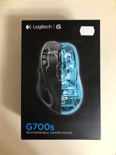 Logitech G700s 無線滑鼠