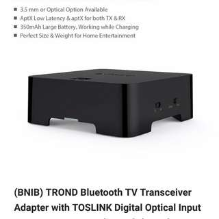 Trond Bluetooth speaker transmitter and receiver for hifi audio