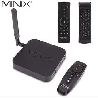 MINIX NEO U9-H+NEO A3 Android 6.0.1 TV Box With Voice Input Hebrew Air Mouse Amlogic S912 Octa Core 2G 4K HDR IPTV Smart TV Box