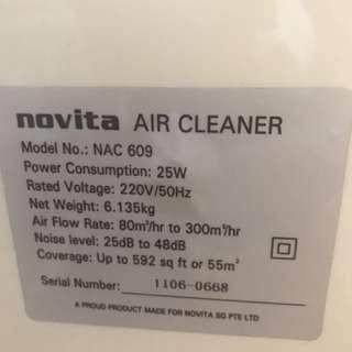 Novita air purifier