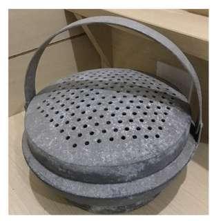 早期 老件 鋁製暖爐 清末民初