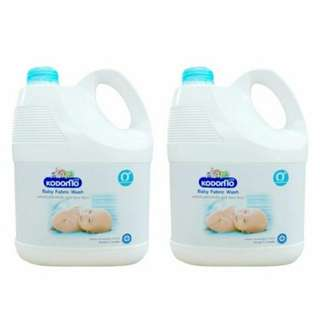 Kodomo Baby Fabric Wash Laundry Detergent (Bundle of two)