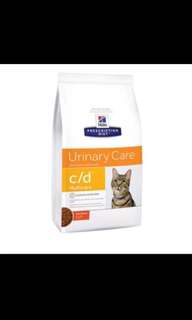 Hill's Feline Urinary Care c/d Multicare 3.85kg Veterinary Diet torn bag