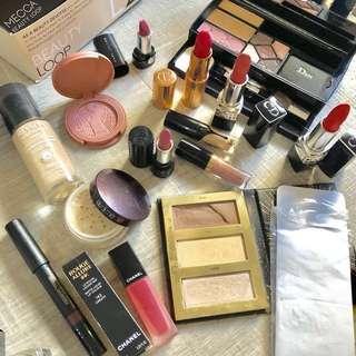 BULK Kat von D Laura mercier Dior chanel Charlotte tilbury tarte High end luxury Sephora Mecca makeup $350+
