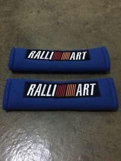 Mitsubishi RalliArt Seat Belt Pads