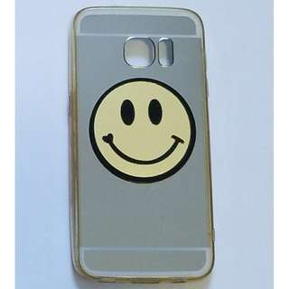 Smiley Face mirror Samsung Galaxy S7 Phone Case 笑臉鏡面三星S7電話殼
