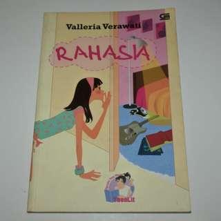 Novel Rahasia - Valleria Verawati Teenlit